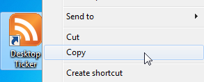 Copy Shortcut